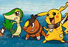 Pokémon Black and Blue Gotta Free 'em all!