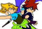 Beyblade Online Coloring Game