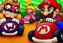 Mario Kart Flash Game