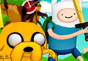 Juegos de hora de aventura con Finn y Jake