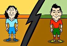 Messi Cr7 Saw Game