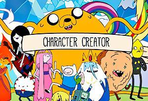 Adventure Time: Character Creator on Miniplay.com