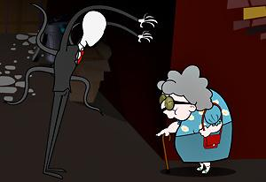 Check out this turn of fate as #Pigsaw kidnaps #Slenderman and gives him a dose of his own medicine! #HalloweenGames #SlendermanGames #FlashGames