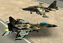 Park it 3D Fighter Jet