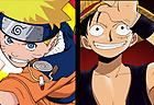 Naruto Luffy Fighting