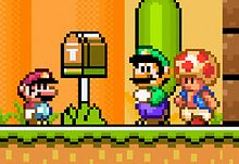 Awesome Mario World