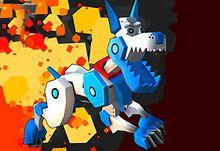 Robot Dog City Simulator