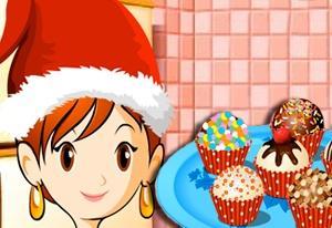 Sara Cooking Class Christmas Cake Balls