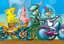 Bob Esponja: Cycle Race